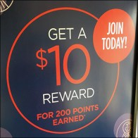 Get-A-Reward Store Entry Offer