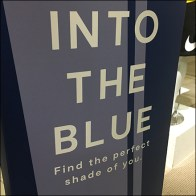 Into-The-Blue Suit Visual Merchandising