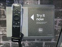 Samsung Ambient-Mode Television Try-Me