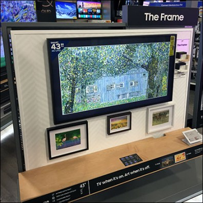 Samsung In-Home Framed Television Art