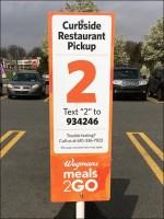 CoronaVirus Curbside Restaurant Pickup via Text