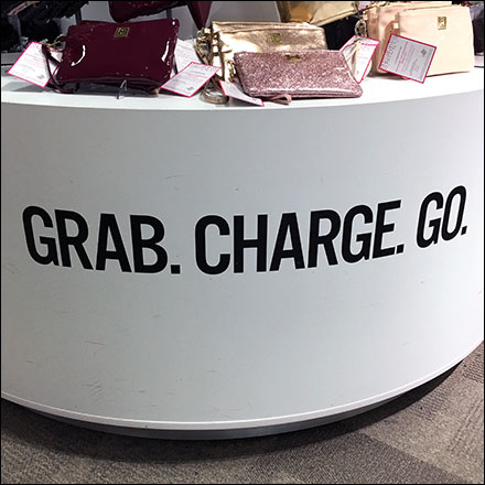 Grab-and-Go Fashion, Credit Card Required