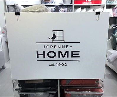JCPenney-Home Binder-Clip Sign Mount
