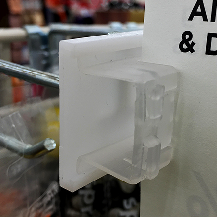 Grid Scan Hook Sign-Grip-Clip