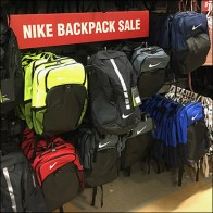 Nike Backpack Sale Eye-Level Signage