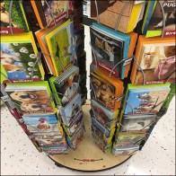 Seriously Funny Greeting Card Spinner Tower