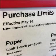 CoronaVirus Product Purchase Limits Memo