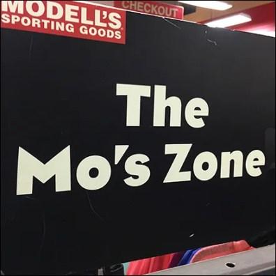 Mo's Zone Sale Rack Merchandising