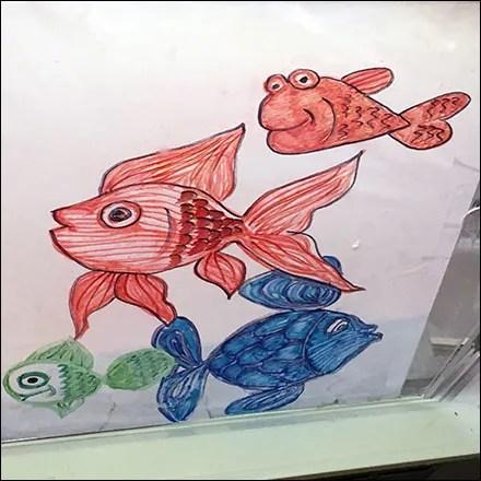 Lighthearted Seafood Cartoon Characters