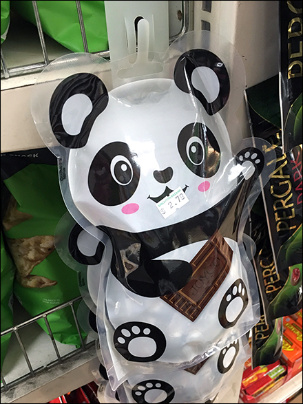 Panda Gourmet Chocolate Strip Merchandiser