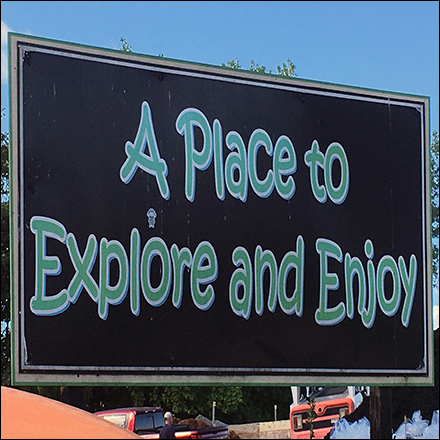 Enjoy-And-Explore Garden Center Tagline - Store Branding and Departmental Branding