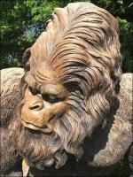 Garden Center Bigfoot StatueStaging