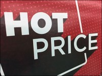 Fall Oversize Hot-Price Tent Sign
