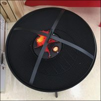 Faux-Flame LED Display Propping