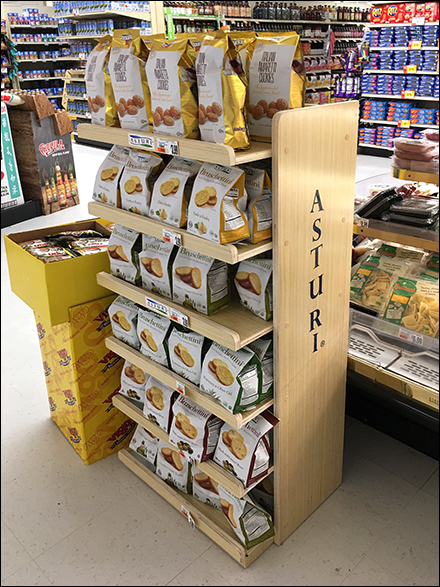 Branded Italian Cookies Bakery Display