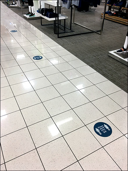 CoronaVirus Please-Stand-Here Floor Graphic