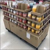 Fall Mason Jar Candle Merchandising