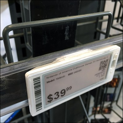 Open-Wire Tray Digital-Price-Ticket Holder