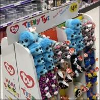 Teeny-Tys Mini-Boos Two-Sided Display