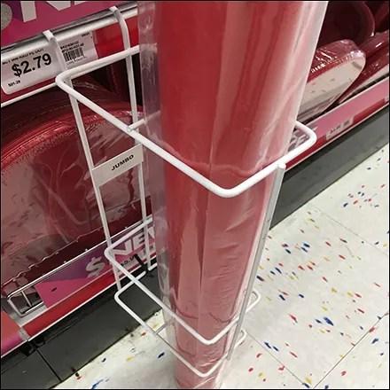 Wire Shelf-Edge Tablecloth Holder