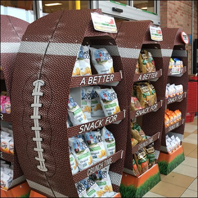 Cape Cod Fall Football Display Lineup
