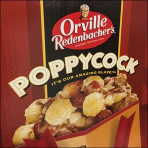 Orville Redenbacher's Popcorn Display