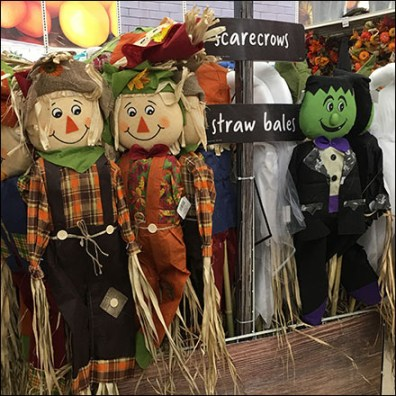 Scarecrows Sold Single and In Bunches