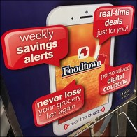 Foodtown Smart App Benefits Sign