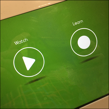 Watch-and-Learn iRobot Display Demo