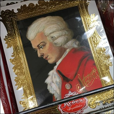 Mozart Portrait Packaging Shelf-Edge Fencing