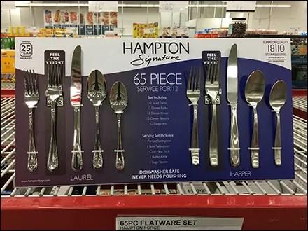 Hampton Dual-Pattern Service-for-Twelve Tableware