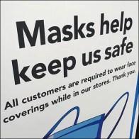 CoronaVirus Safety Messaging Sidewalk Sign