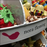 Nora Fleming Branded Lazy-Susan Carousel