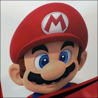 Nintendo Rounded Endcap Display