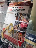 Key To CoronaVirus Safety Shelf Display