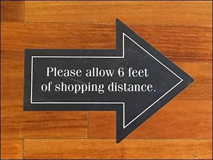 Ralph Lauren CoronaVirus This-Way Directional GraphicRalph Lauren CoronaVirus This-Way Directional Graphic