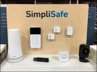 SimpliSafe Security Pallet-Rack Display