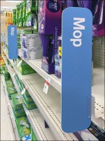 Mop-Aisle Category Definition Signs