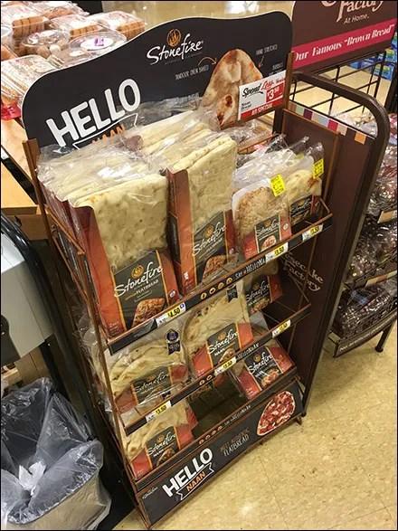 Stonefire Hello Naan Flatbread Merchandising