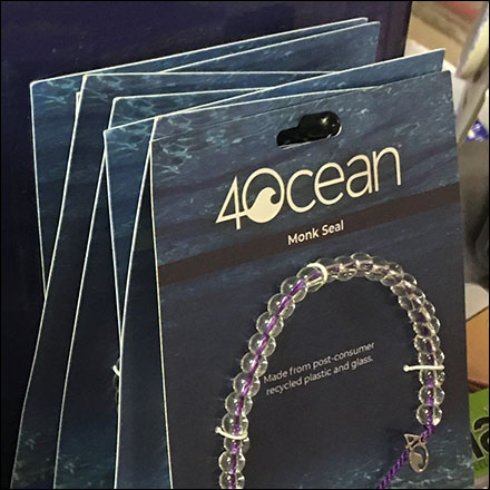 4Ocean Recycled Bracelet Countertop Display