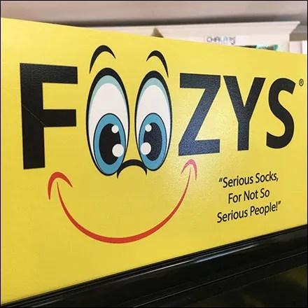 Foozys Socks Plastic-Pegboard Spinner
