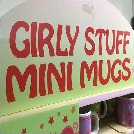 Girly-Stuff Mini-Mug Tower Spinner