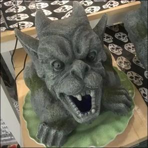 Halloween Gargoyles Lying-In-Wait