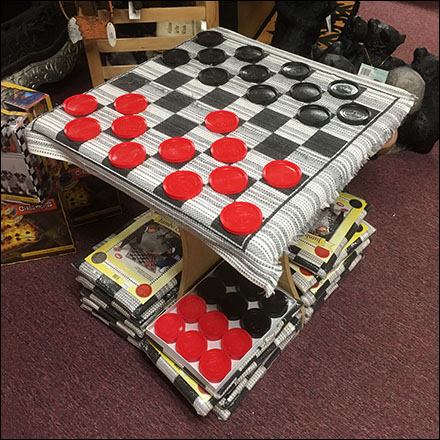 Giant Checkerboard Demo Display