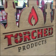 Torched-Products Beer Candle Display