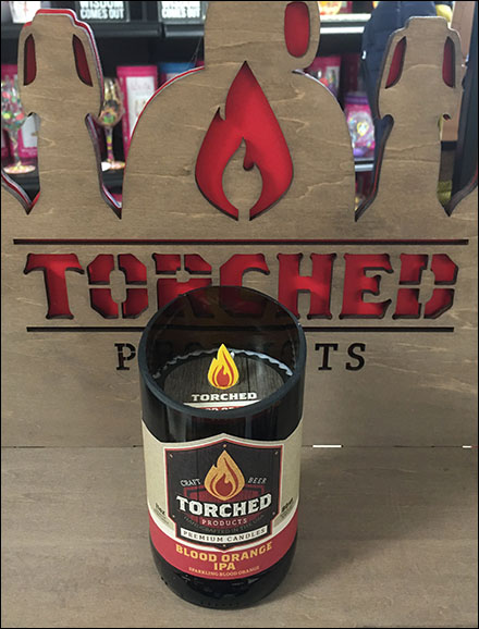 Torched-Products Paper Faux Flame