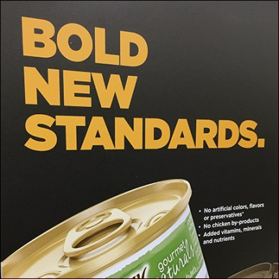 Bold New Cat-Food Standards Announcement