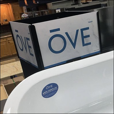 Ove Bathtub Tower Drop-in Sign Header