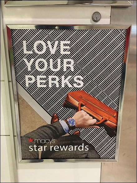 Macy's Love-Your-Perks Wristwatch Poster