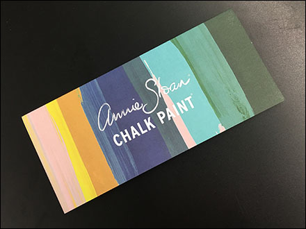 Rustique Annie Sloan Chalk Paint Brochure Takeaway Main2